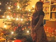 Was liegt unter dem Baum?