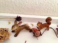 Hase und Eichhorn