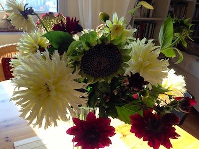 Letzte Blumen